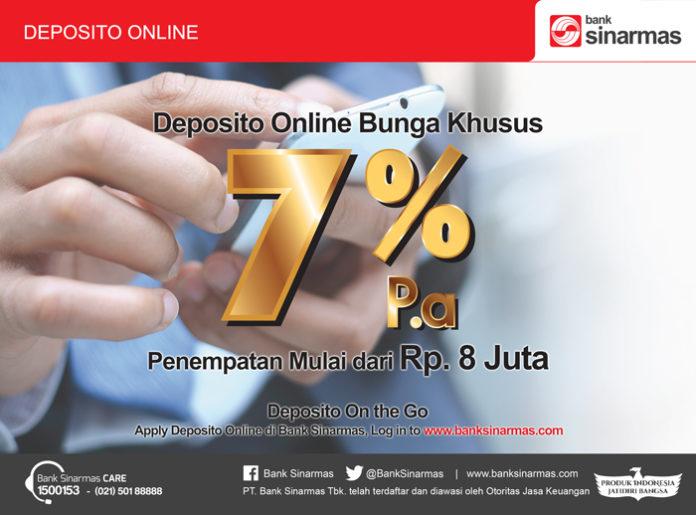 deposito online bunga 7