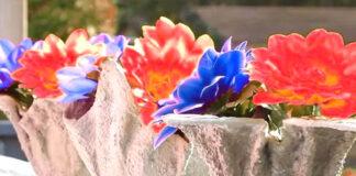 pot bunga buatan sendiri